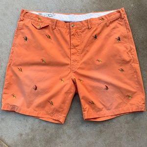 Polo RALPH LAUREN FLY FISHING LURE Shorts 46B Big